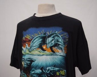Black Dolphin T-shirt (DOWN FROM 19.99)