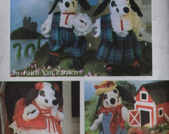 Simplicity 7864 Toy Dalmation with Clothes - FREE SHIPPING