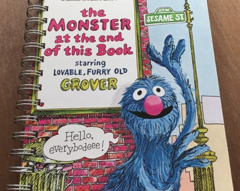 2017 Calendar Year Planner The Monster at the End of this Book Little Golden Book OR Other LGB
