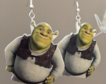 Shrek Earrings