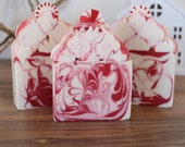 Peppermint Soap   Soap   Christmas Soap   Holiday Soap   Artisan Soap   Royalty Soaps