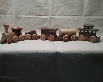 Hand Crafted Wooden Train