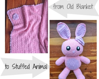 Turn Blanket into Stuffed Animal