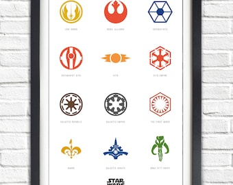 Star Wars - Icons - 19x13 Poster