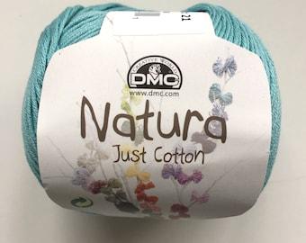DMC Natura Just Cotton - 100% Cotton 4 Ply yarn - Aquamarina - N25