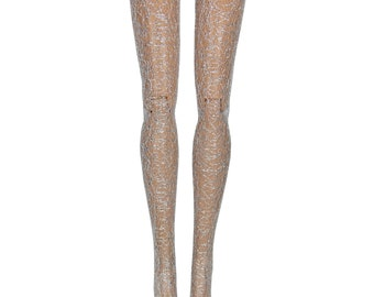 Monster High Doll Stockings - Silver Filigree - Doll Clothes - All Sizes