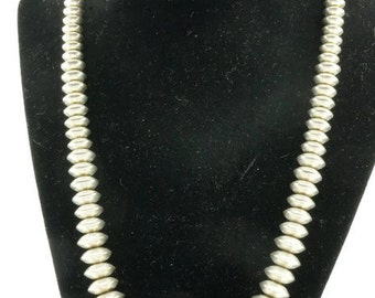Artie Yellowhair Sterling Silver Necklace