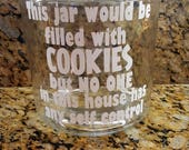 2 custom cookie jars for Jennifer