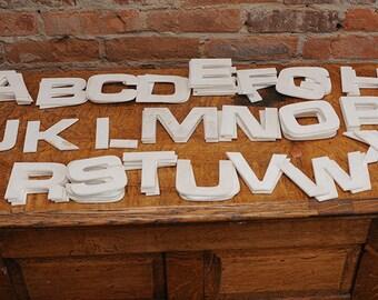 Lot of Vintage Sign Letters