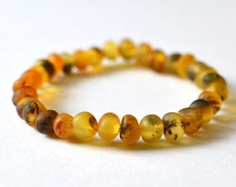 RESERVED Natural Amber Mens Bracelet Baltic Amber Natural Jewelry for Men Surfer Men's Bracelet