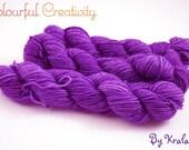 Colourful Sock mini - Purple