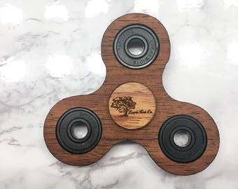Exotic Hawaiian Koa Wood Fidget Spinner