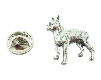 Boston Terrier ~ Lapel Pin/Brooch ~ D334MP