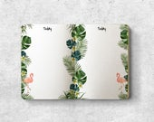 Passport Inserts. Printable Inserts. Printable planners.  Travelers notebook.  Illustrated Pages. Today. Cute. Tropical Flamingos