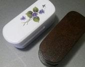 RESERVED for Andrew.  Wooden Teatowel Holder: Amish magic marble tea towel holder. Teacloth tea cloth wood.