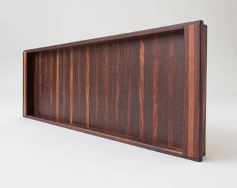 Single Rosewood Tray by Don Shoemaker for Senal