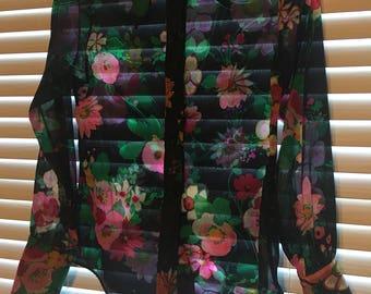Lady arrow blouse floral shirt