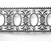 Silver Metal Trim*Filigree Cutwork Trim*Mixed Media, Scrapbooks, Assemblage, Crowns