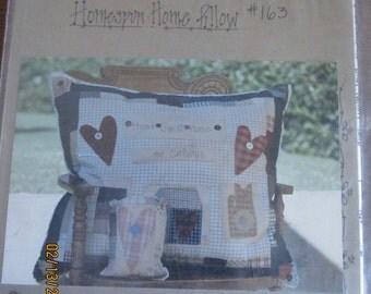 Homespun Home Pillow Pattern