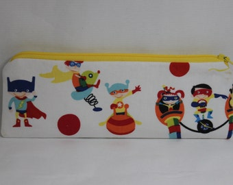 Super heroes Little Zipper Pouch