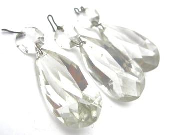 chandelier crystals vintage 1940s