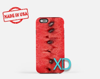 Watermelon iPhone Case, Seeds iPhone Case, Watermelon iPhone 8 Case, iPhone 6s Case, iPhone 7 Case, Phone Case, iPhone X Case, SE Case New