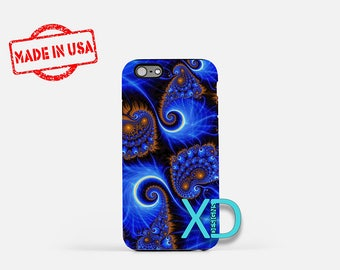 Blue Swirl iPhone Case, Abstract iPhone Case, Blue Swirl iPhone 8 Case, iPhone 6s Case, iPhone 7 Case, Phone Case, iPhone X Case, SE Case