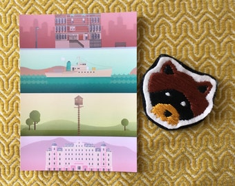 Diy patch raccoon moonrise kingdom