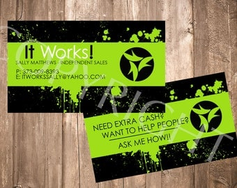 IT Works Business Card