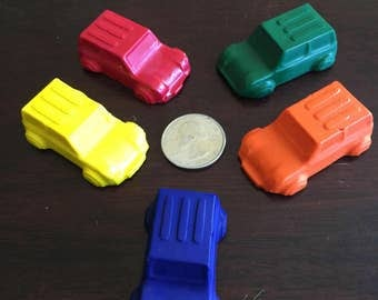 20 Packs - RECYCLED CAR CRAYONS