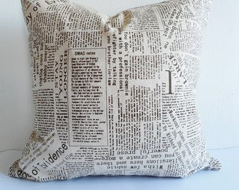 Linen pillow cover, Decorative pillow cover, Pillow cover