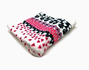 Vtg. Towel Cotton - Flowers 70s Home Textiles / West-Germany