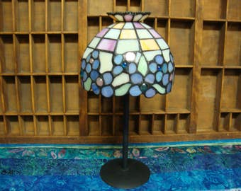 Stained Glass Votive Lamp