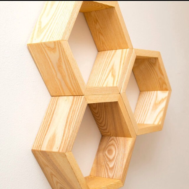 Honeycomb Shelves And Modern Storage Solutions By