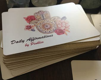Daily Affirmations by Pinkleo *Limited Edition* Card Deck