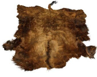 Glacier Wear Select Buffalo Bison Robe Hide Rug #0004