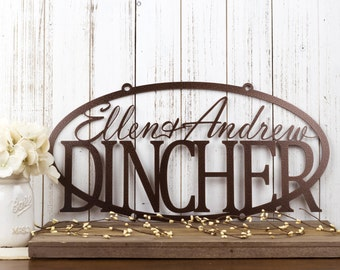 Personalized Metal Wall Art custom signs and wall decorrefinedinspirations on etsy