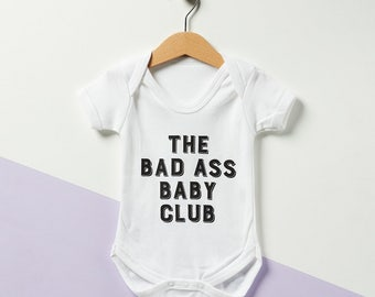 The Bad Ass Baby Club Babygrow