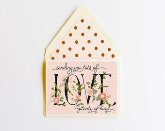 Sending you Love & Hugs