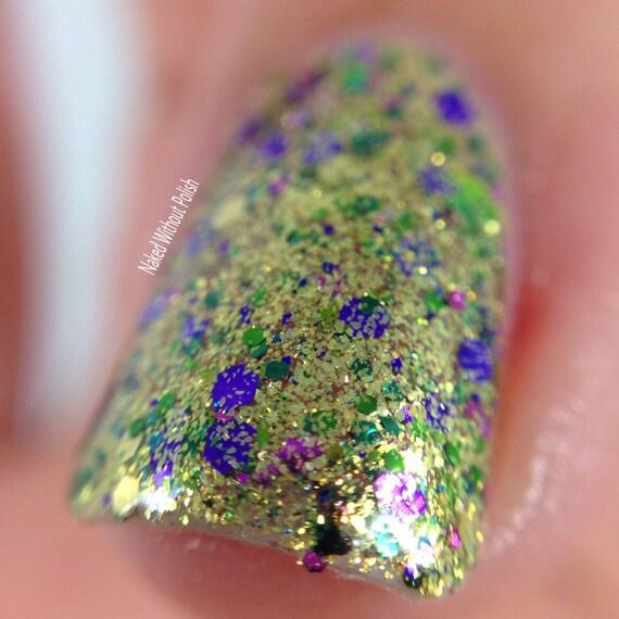 Magnífico Uñas Chispa Púrpura Molde - Ideas Para Esmaltes - aroson.com