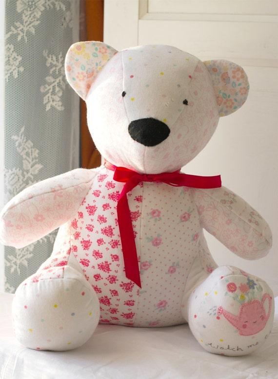 Memory Bear Keepsake Baby Gift Personalised Gift by