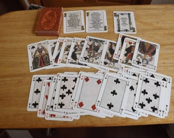 French Henry IV Playing Cards