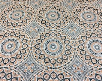 Beige Geometric Upholstery Materials Fabric Etsy Studio