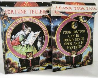 NEW! Tea Bag Envelopes -Fortune Teller Tea/Seed Bag Envelopes - Qty of 6 Envelopes