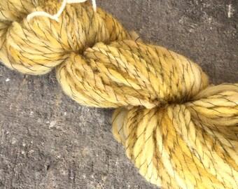 Hand spun yarn, Australian wool yarn, thread plied yarn, 7-8 WPI