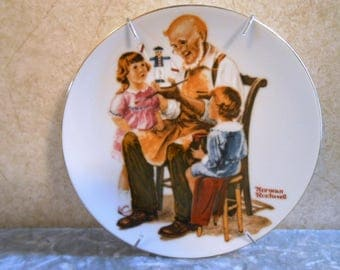 1982 Limited Edition of Norman Rockwell Collector's Plate