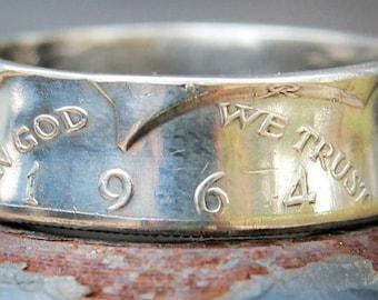 Silver 1964 JFK Half Dollar
