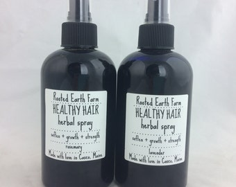 Healthy Hair Herbal Spray - Hair Growth - Hair Health - Hair Conditioner - Leave In Conditioner - Strong Hair - Soft Hair