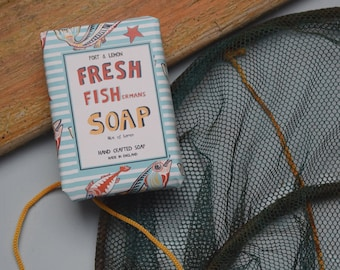 Fresh Fishermans hand crafted soap