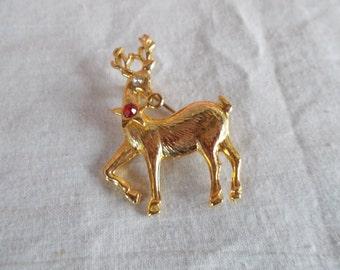 Vintage Reindeer Brooch // 5